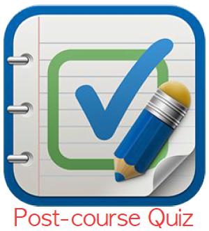 post-course quiz