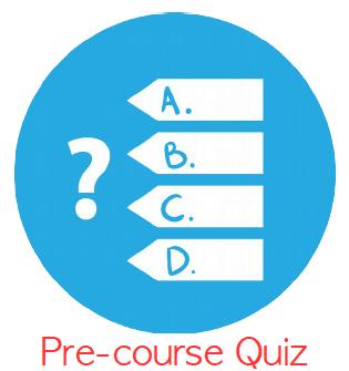 pre-course quiz